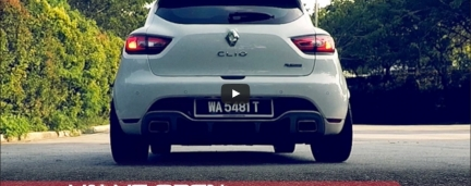 Exhaust Sound LOUD/soft Remote valve CLIO 4 RS